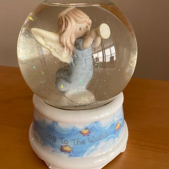 Precious Moments snow globe